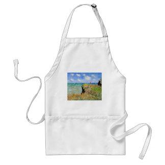 Tablier La falaise de Pourville de Claude Monet