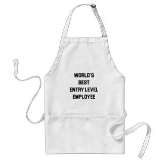 Tablier Le meilleur employé de niveau d'entrée