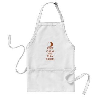 Tablier Les cadeaux de Taiko gardent la coutume de tambour