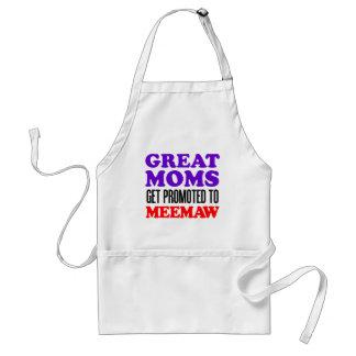 Tablier Les grandes mamans obtiennent favorisées au