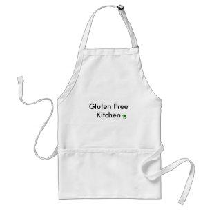 Tablier libre de cuisine de gluten