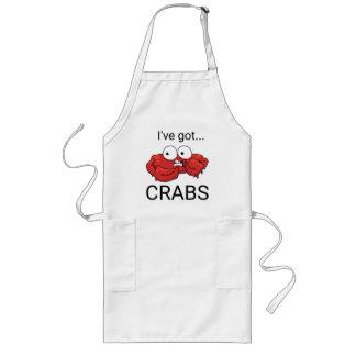Tablier Long J'ai des crabes