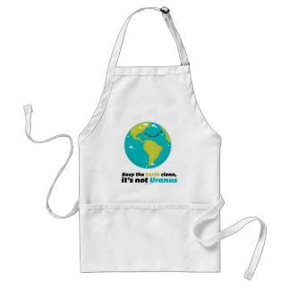 Tablier Maintenez la terre propre