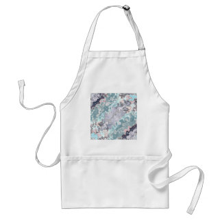 Tablier Motif abstrait de pastels