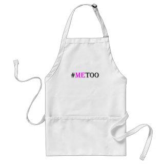 Tablier Mouvement de #METOO pour des droits de la femme et