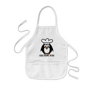 Tablier nommé personnalisé pour le chef de pingoui