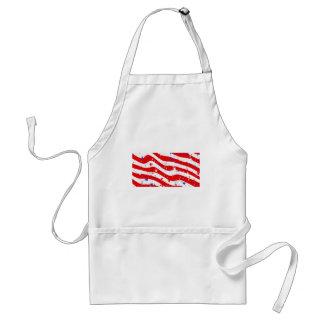 Tablier Nous drapeau américain de drapeau de l'Amérique de