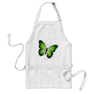 Tablier Papillon vert