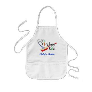 Tablier personnalisé par enfant de cuisine