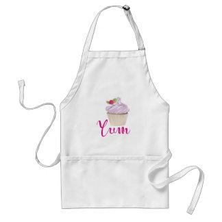 Tablier Petit gâteau givré par rose Yum !