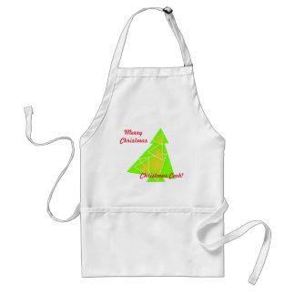 Tablier Peu d'arbre avec une illustration d'arbre de Noël