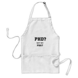 Tablier PhD ? Pourquoi pas PhA ? Cadeau d'obtention du
