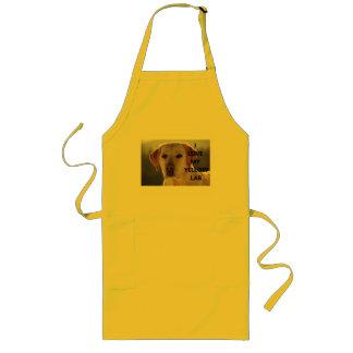 Tablier PIC jaune de l'amour W de Labrador
