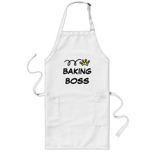 Tablier pour les hommes avec le patron de cuisson