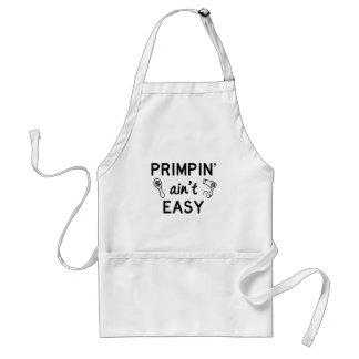 Tablier Primpin n'est pas facile