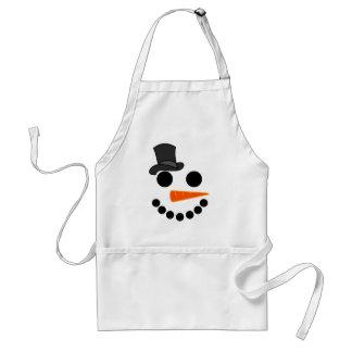 Tablier Produits de garçon de bonhomme de neige