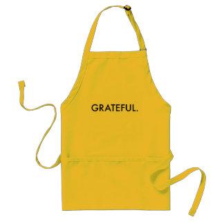 Tablier reconnaissant