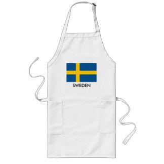 Tablier suédois de cuisine de cuisine de drapeau