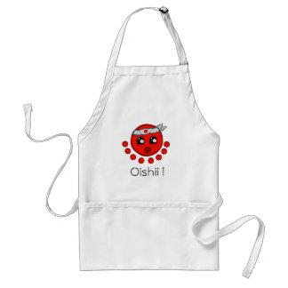 Tablier superbe d'Oishii Tako (poulpe délicieux)