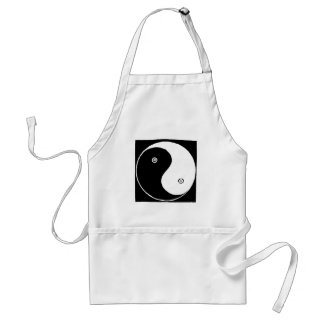 Tablier Symbole de Yin Yang de Chinois