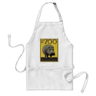 Tablier Visitez le zoo de Philadelphie