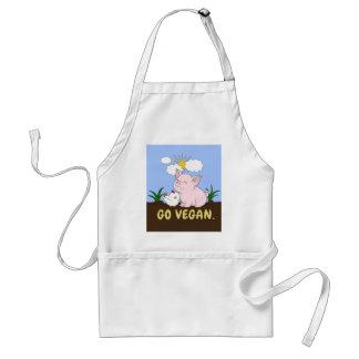 Tablier Vont le végétalien - porc et poulet mignons