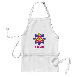 Tablier Yoga de fleur de Lotus