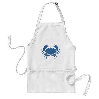 Tabliers de crabe bleu
