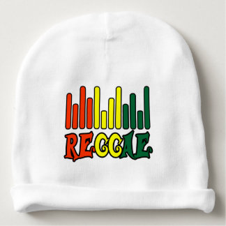 tache de drapeau de graffiti de reggae de rasta bonnet de bébé