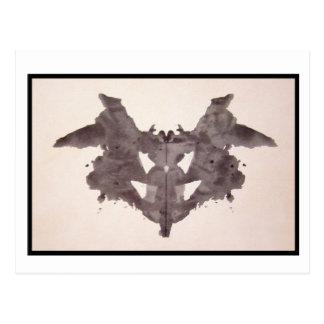 Tache d'encre 1,0 de Rorschach Carte Postale