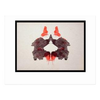 Tache d'encre 2,0 de Rorschach Carte Postale
