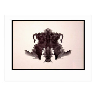 Tache d'encre 4,0 de Rorschach Carte Postale