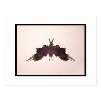 Tache d'encre 5,0 de Rorschach Carte Postale