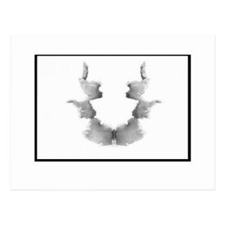 Tache d'encre 7,0 de Rorschach Carte Postale