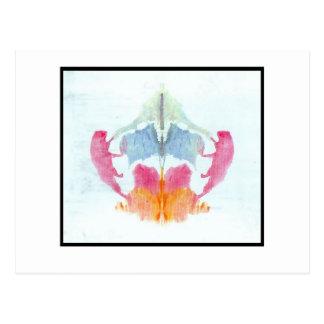 Tache d'encre 8,0 de Rorschach Carte Postale