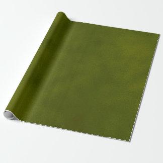 Tache dénommée sale vert-foncé papier cadeau