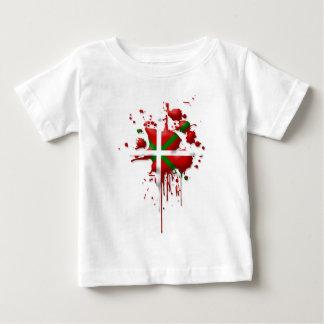 tâche drapeau Basque Euskadi T-shirt Pour Bébé