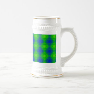 Tache floue d'art abstrait chope à bière