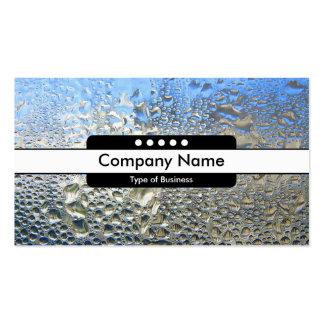 Taches centrales de la bande 5 - eau froide II Carte De Visite Standard