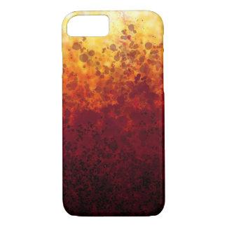 Taches de coucher du soleil - coque iphone d'Apple