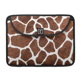 Taches de girafe housses MacBook pro