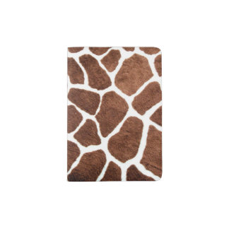 Taches de girafe protège-passeports