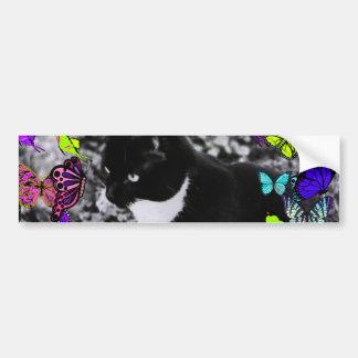 Taches de rousseur dans les papillons II - noirs Autocollant Pour Voiture