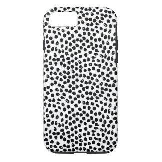 Taches d'encre - blanches/noir/Andrea Lauren Coque iPhone 7
