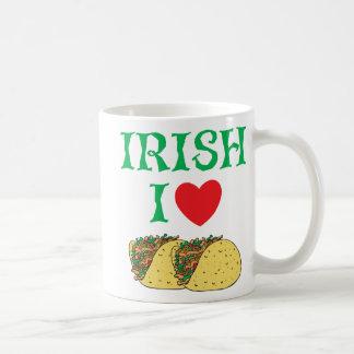 Tacos d amour de l Irlandais I Tasse À Café