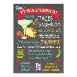 Tacos et invitation de partie de pendaison de crém