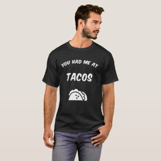 Tacos tshirt - perfect for tacos lover, foodie gif