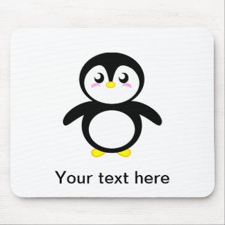 Tad le pingouin tapis de souris