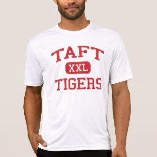 Taft - tigres - lycée de Taft - Hamilton Ohio T-shirt
