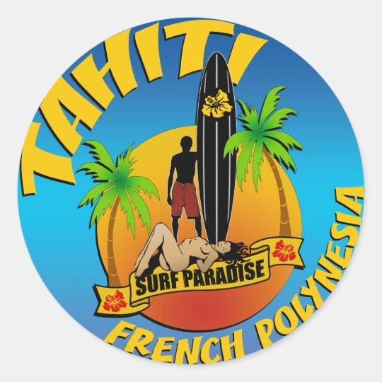 Tahiti autocollant